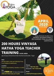 200 Hours of Vinyasa Hatha Yoga Teacher Training